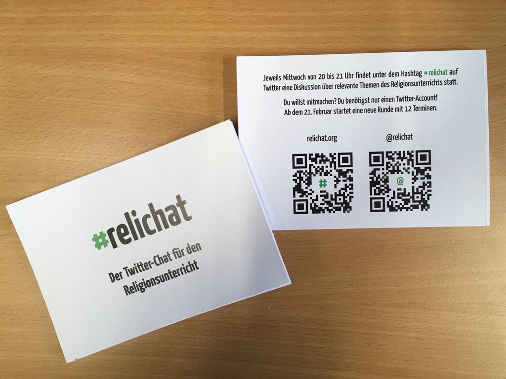 #relichat Flyer